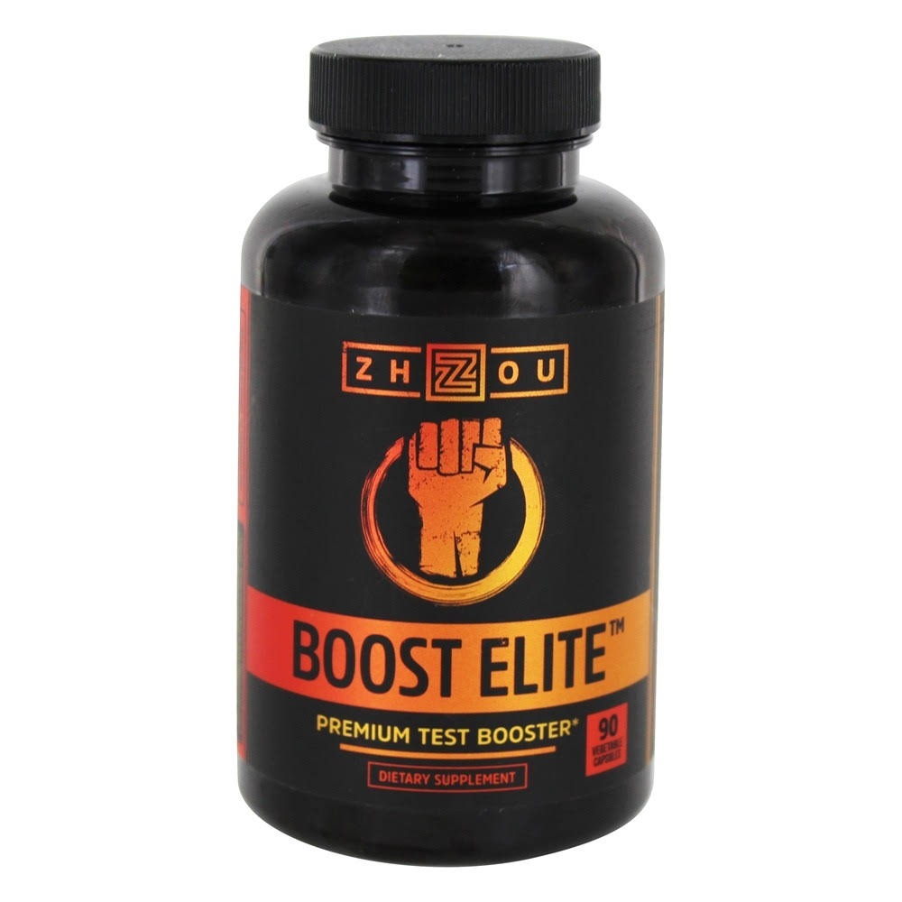 Zhou Nutrition Boost Elite Premium Test Booster Supplement - 90ct