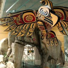 Denver International Airport Murals Location by Vancouver Airport Guide Sunset