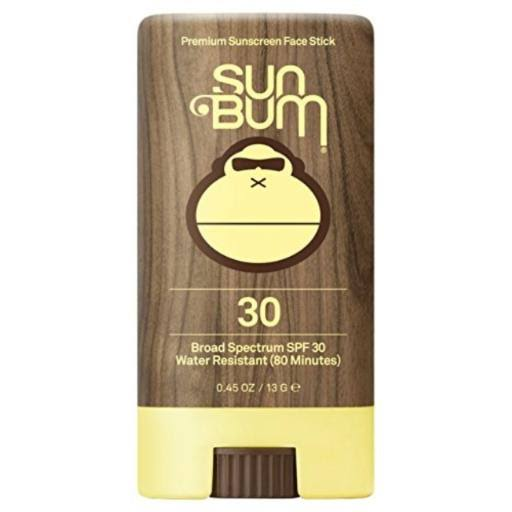 Sun Bum Face Stick Sunscreen Sunblock - SPF 30, 0.45oz
