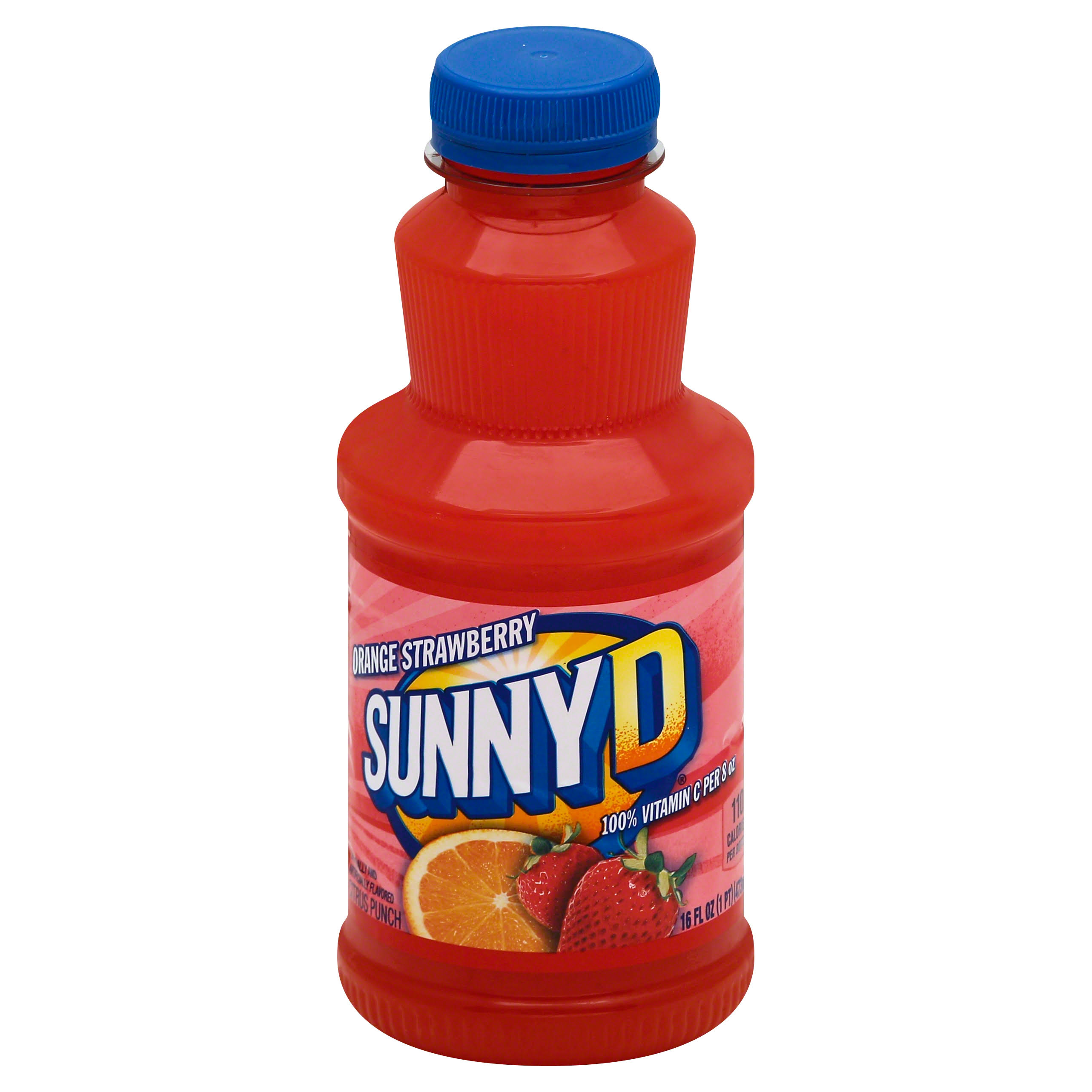 Sunnyd Citrus Punch - Orange Strawberry, 16oz