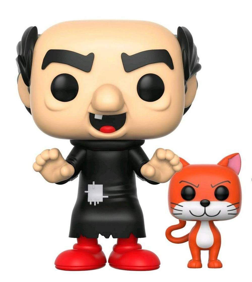 Funko Pop Smurfs Gargamel with Azrael Vinyl Figure