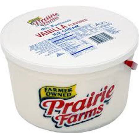 Prairie Farms Vanilla Ice Cream - 16oz