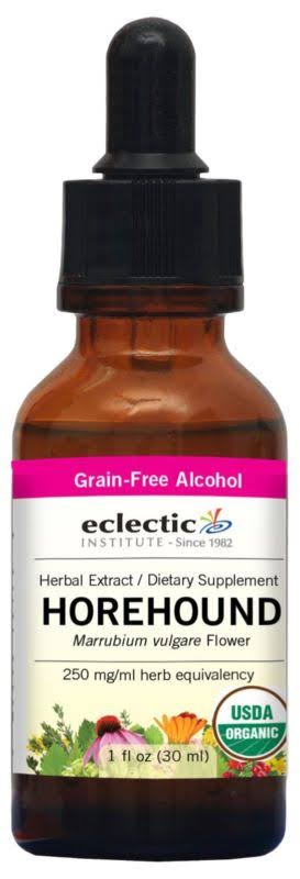 Eclectic Institute Horehound Extract - 1oz
