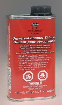 Testor Universal Enamel Thinner - 235ml