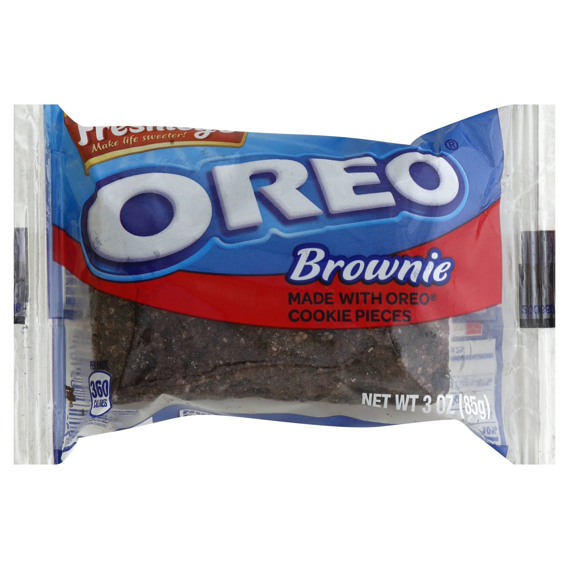 Mrs Freshleys Brownie, Oreo - 3 oz