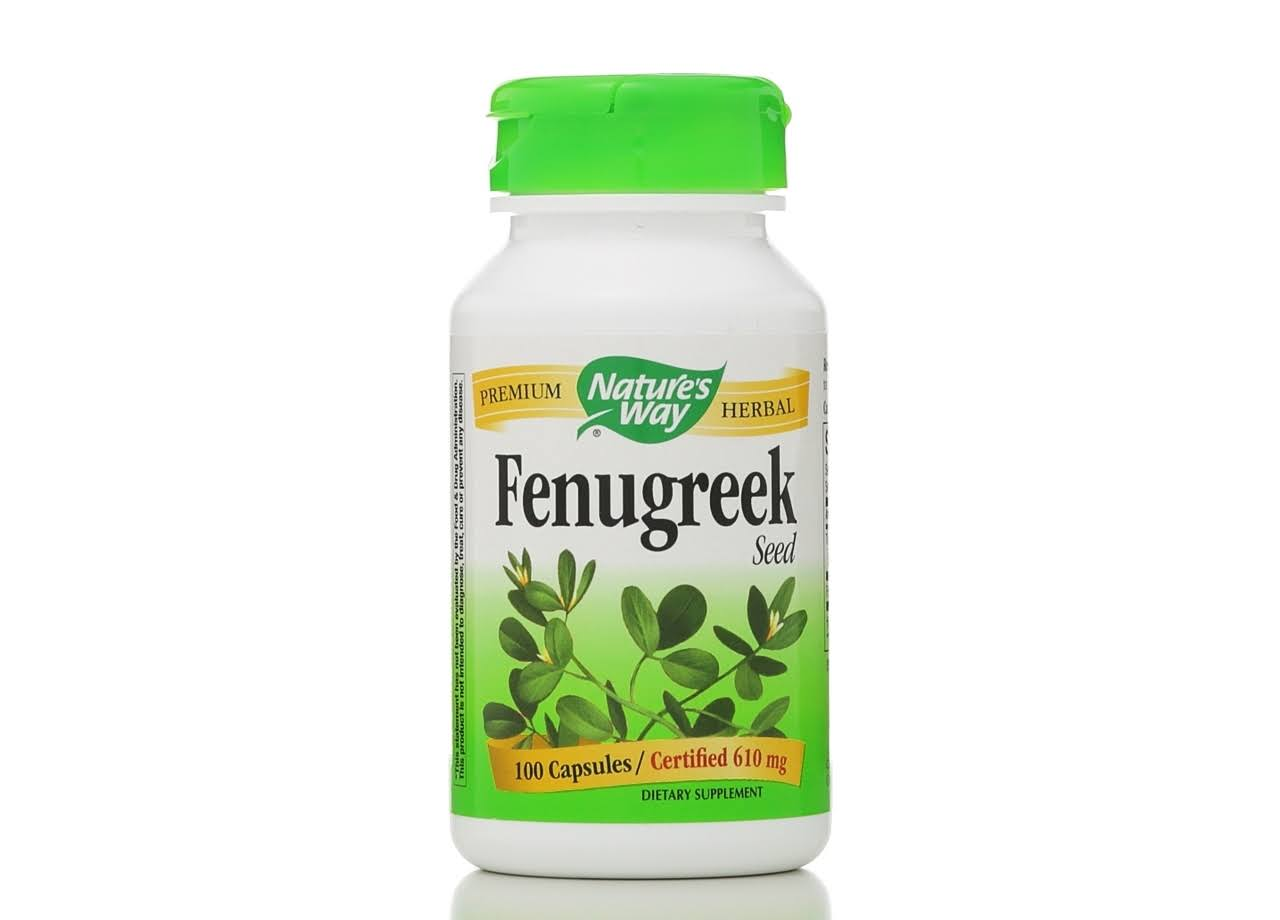 Nature's Way Fenugreek Seed Supplement - 100 Capsules