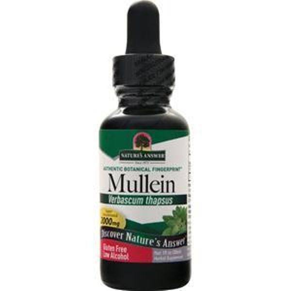 Nature's Answer Mullein Leaf Organic Alcohol Fluid Extract 2000mg