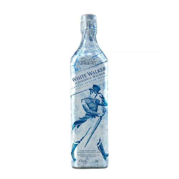 Johnnie Walker White Walker Blended Scotch Whisky - Game of Thrones Edition, 750ml