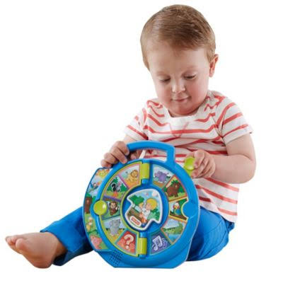 Fisher-Price Little People World of Animals See 'N Say Toddler Toy