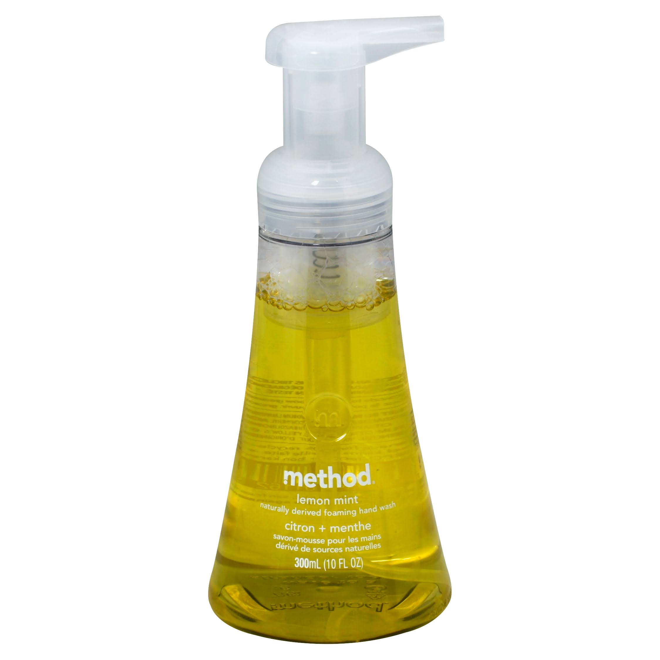 Method Foaming Hand Wash - Lemon Mint, 10oz