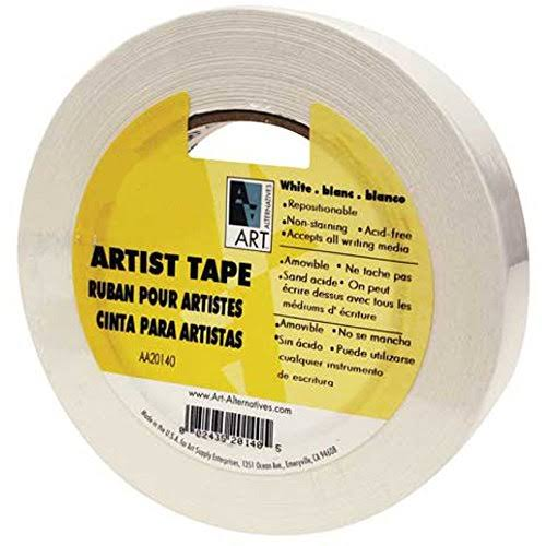 Economy White Artists Tape