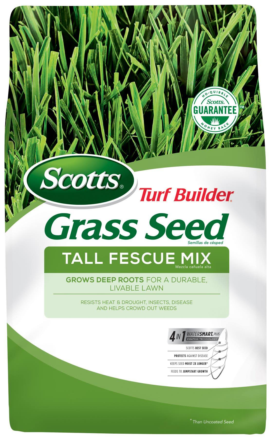 Scotts Turf Builder Grass Seed - Tall Fescue Mix, 3lbs