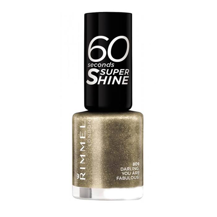 Rimmel London 60 Seconds Super Shine Nail Polish - 809 Darling, You Are Fabulous!, 8ml