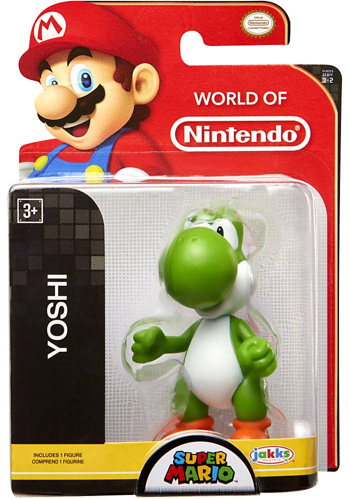 World of Nintendo Super Mario Yoshi Mini Figure - 2.5""