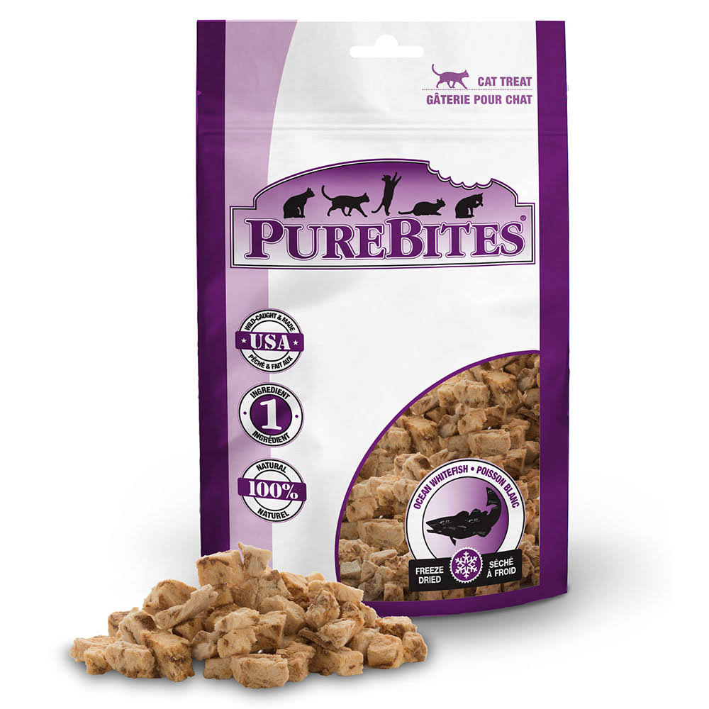 Purebites Cat Treats - Ocean Whitefish