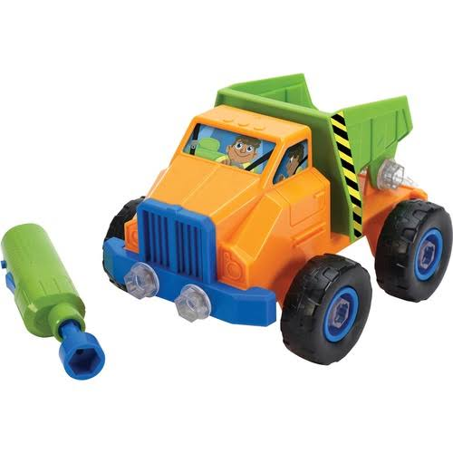 Educational Insights Design and Drill Power Play Vehicles Dump Truck Playset