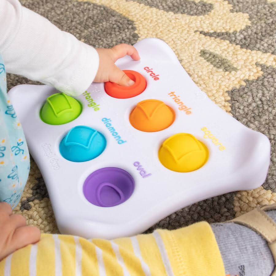 Fat Brain Toys Dimpl Duo Baby Toy