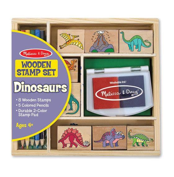 Melissa & Doug : Stamp Set - Dinosaur
