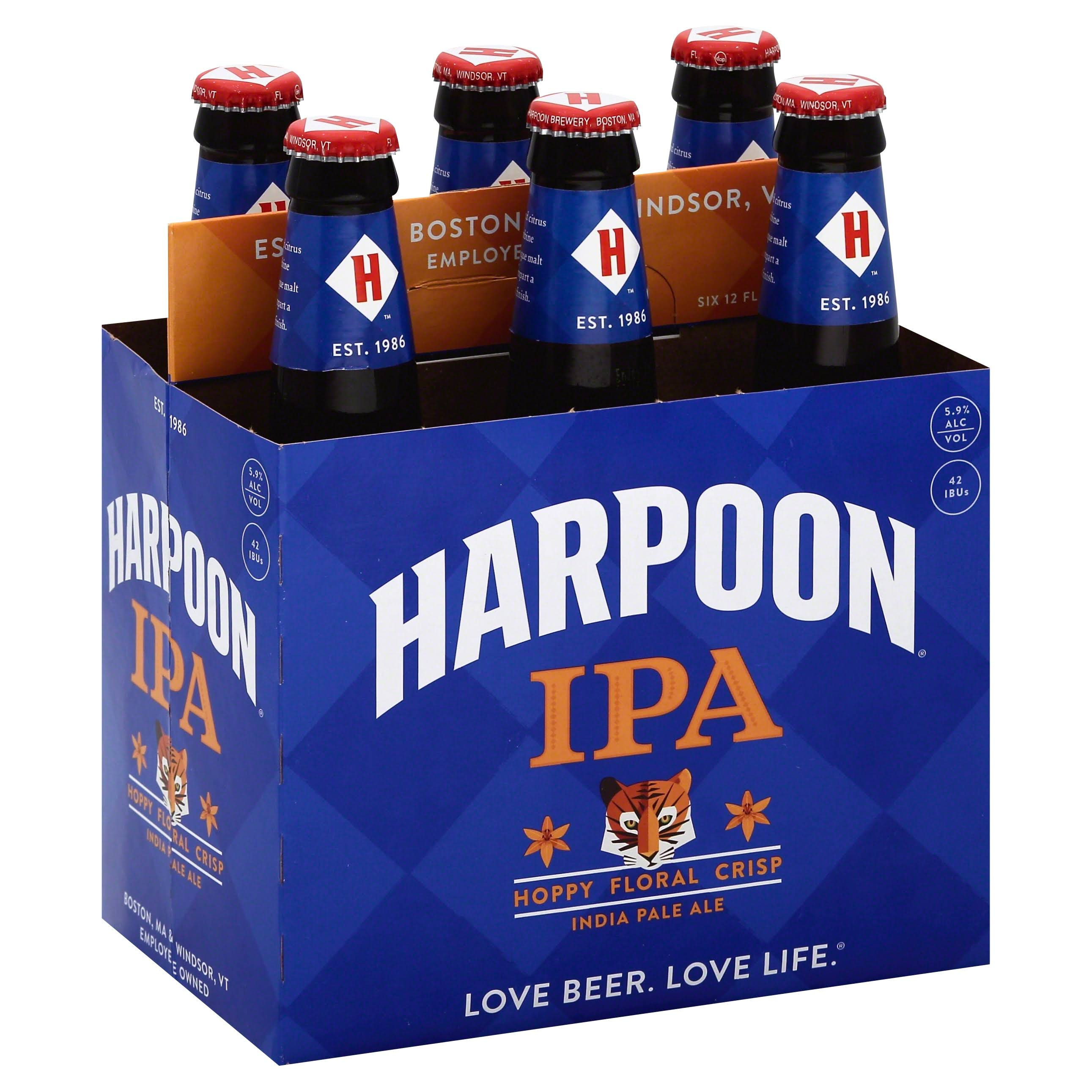 Harpoon Ale India Pale - x6