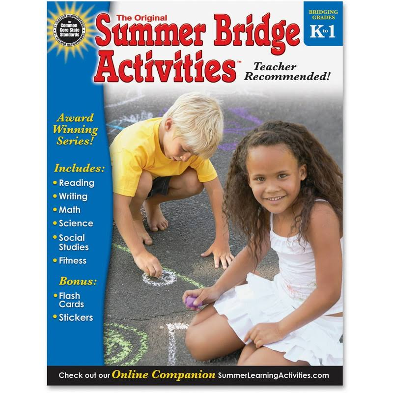 Summer Bridge Activities: Grades K-1 - Carson Dellosa Publishing