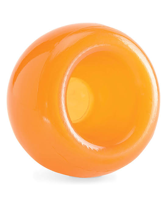 Planet Dog Orbee-Tuff Snoop Treat Dispensing Dog Toys - Orange