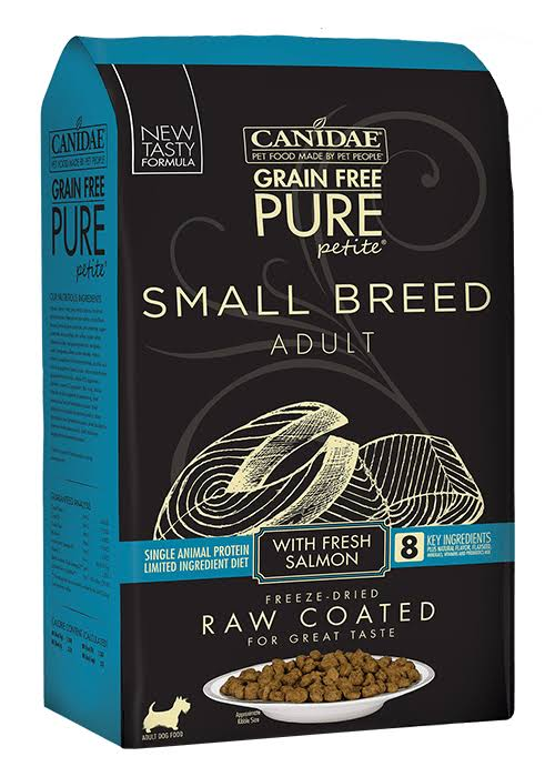 Canidae Pure Petite Small Breed Salmon Dry Dog Food, 4 lb