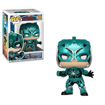 Funko Pop Marvel Captain Star Commander Figure
