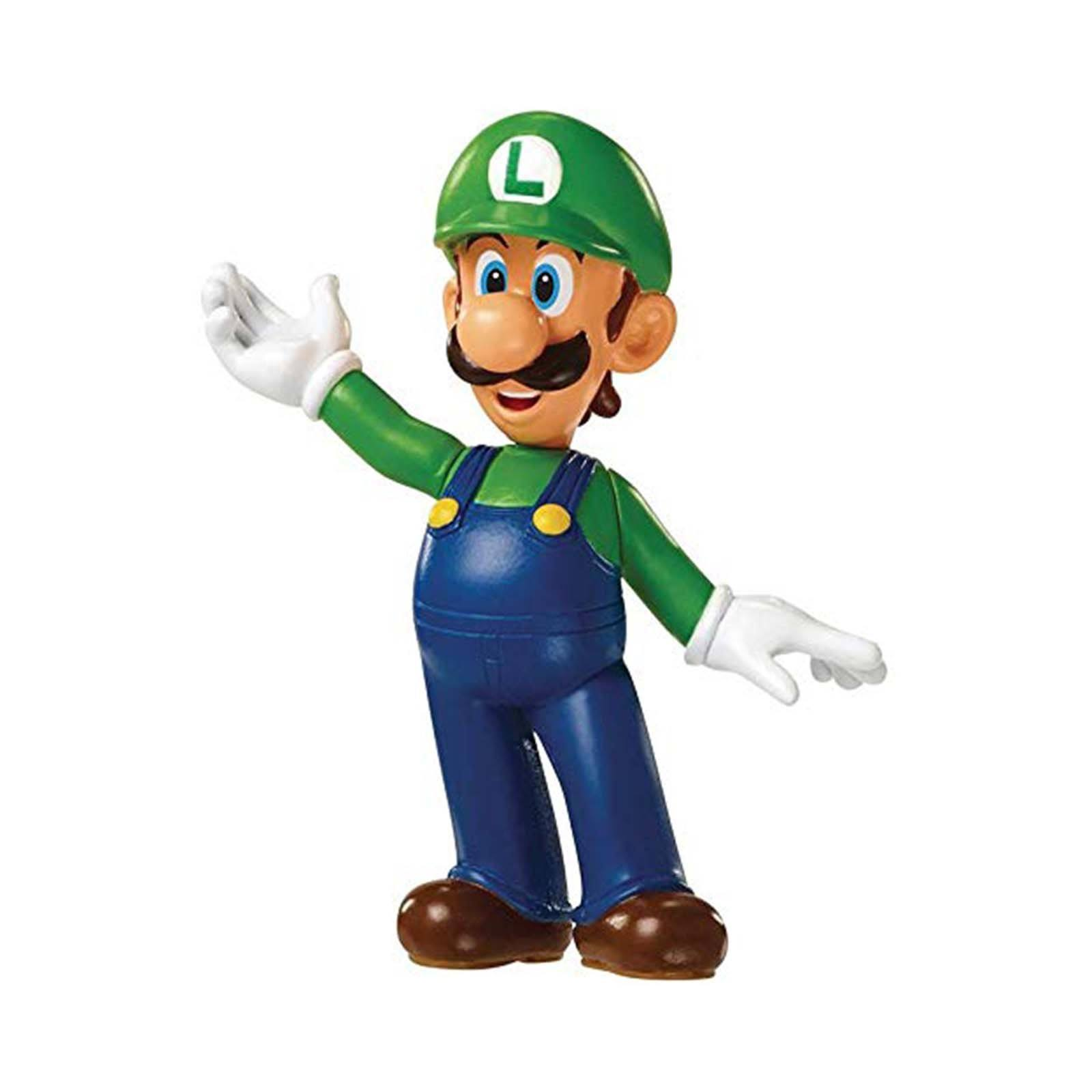 "Super Mario Brothers World of Nintendo 2.5"" Luigi Collectible Figure"