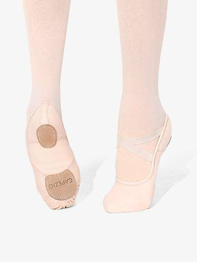 Capezio Split Sole Canvas Ballet Shoes - 4.5 US