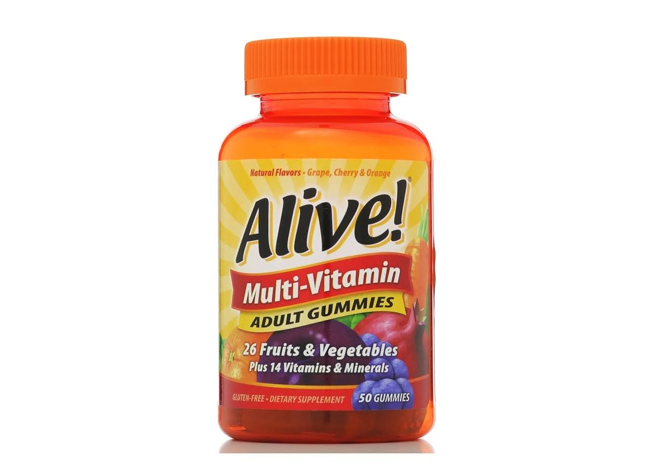Nature's Way Alive! Adult Dietary Supplement - 50 Gummies