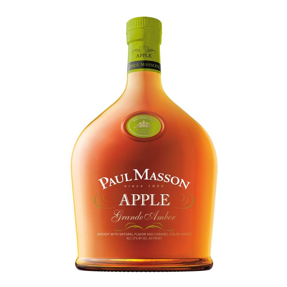 Paul Masson Grande Amber Apple Brandy - 750 ml