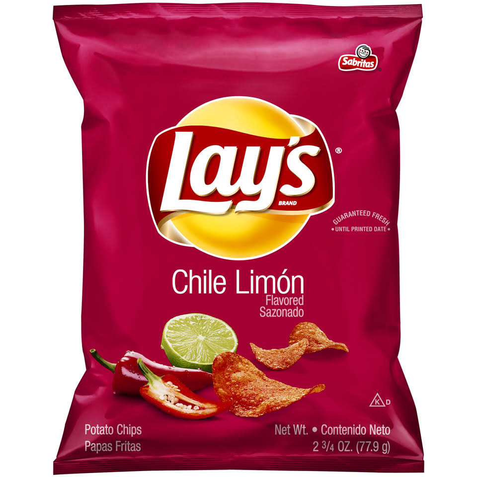 Lays Potato Chips - Chilli Lemon