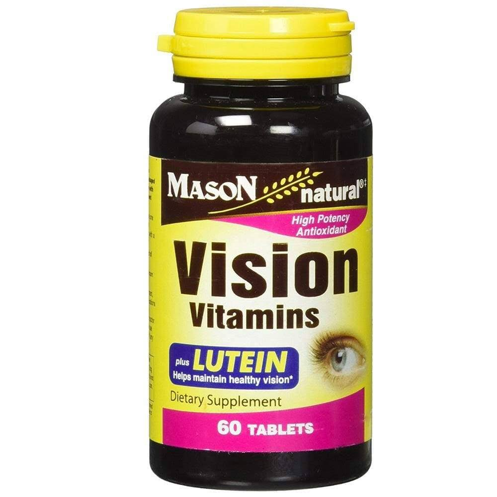 Mason Natural Vision Vitamins With LUTIEN Antioxidant - 60 Tablets