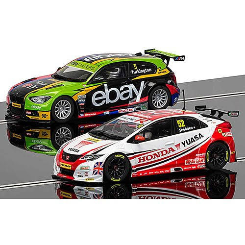Scalextric C3694A BTCC Champions - BMW 125 Series 1 & Honda Civic Car