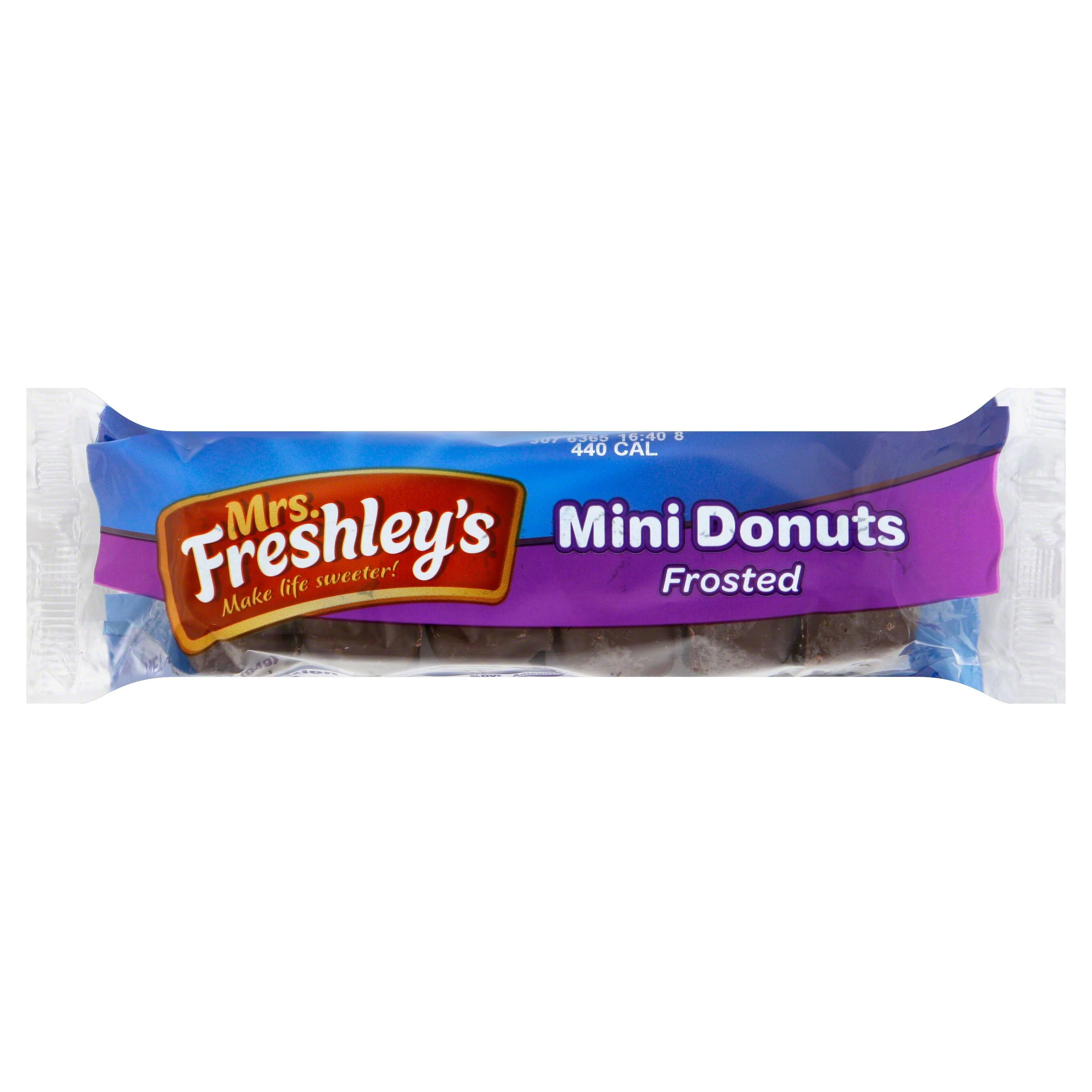 Mrs. Freshley's Frosted Mini Donuts - x6