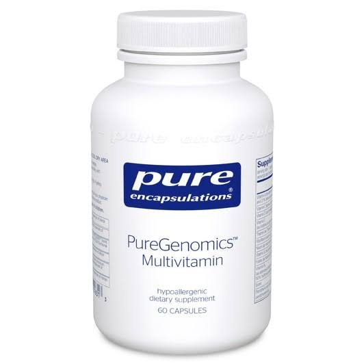 Pure Encapsulations Puregenomics Multivitamin Dietary Supplement - 60ct