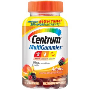 Centrum Adult MultiGummies Multivitamin / Multimineral Supplement Gummy, 70 ct | CVS