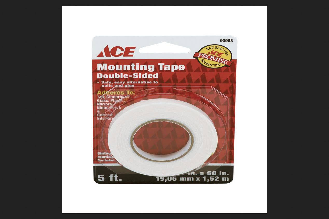 "Ace Mounting Tape Permanent 3/4"" x 60"""