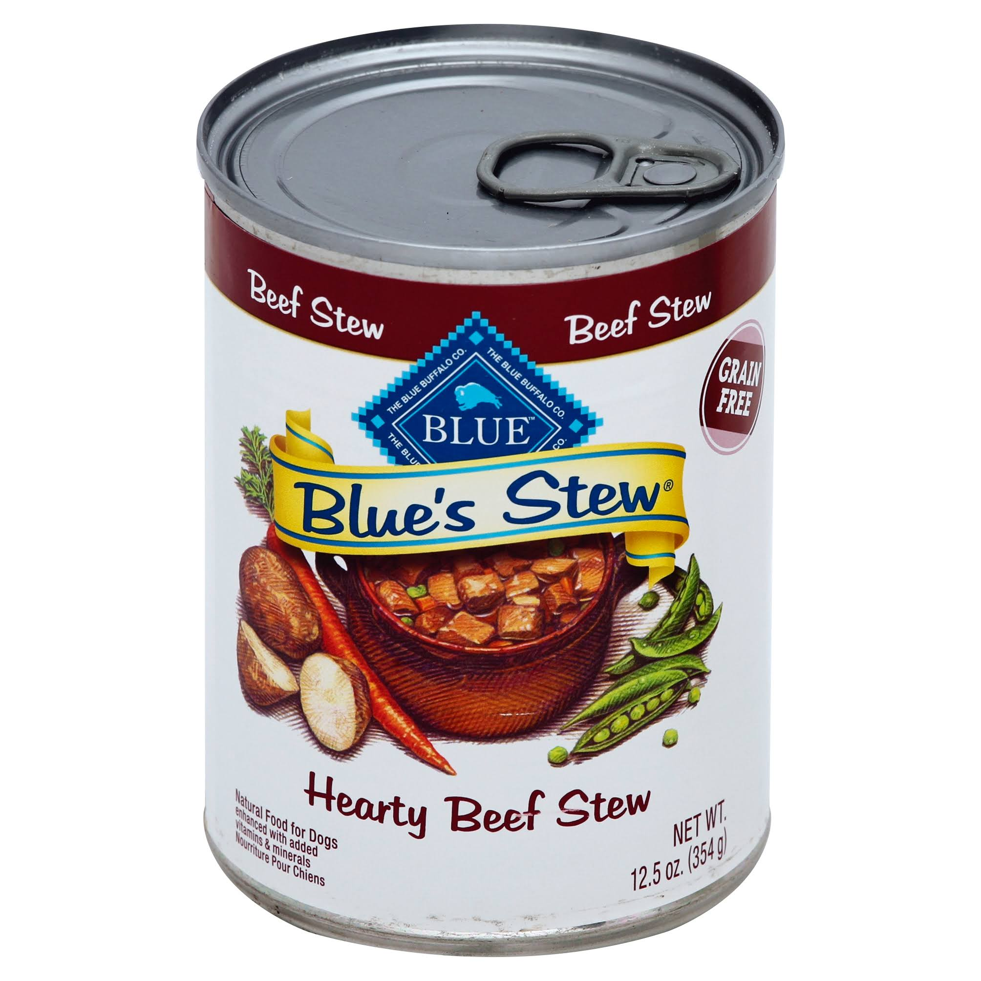 Blue Blue's Stew Adult Dog Food - Beef