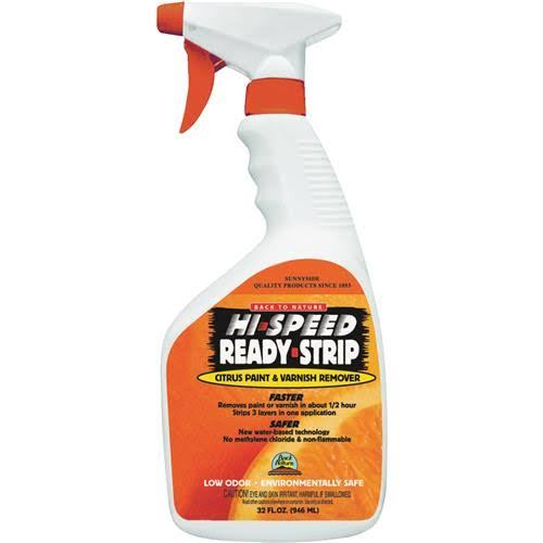 Ready Strip High Speed Citrus Paint and Varnish Remover - 32oz