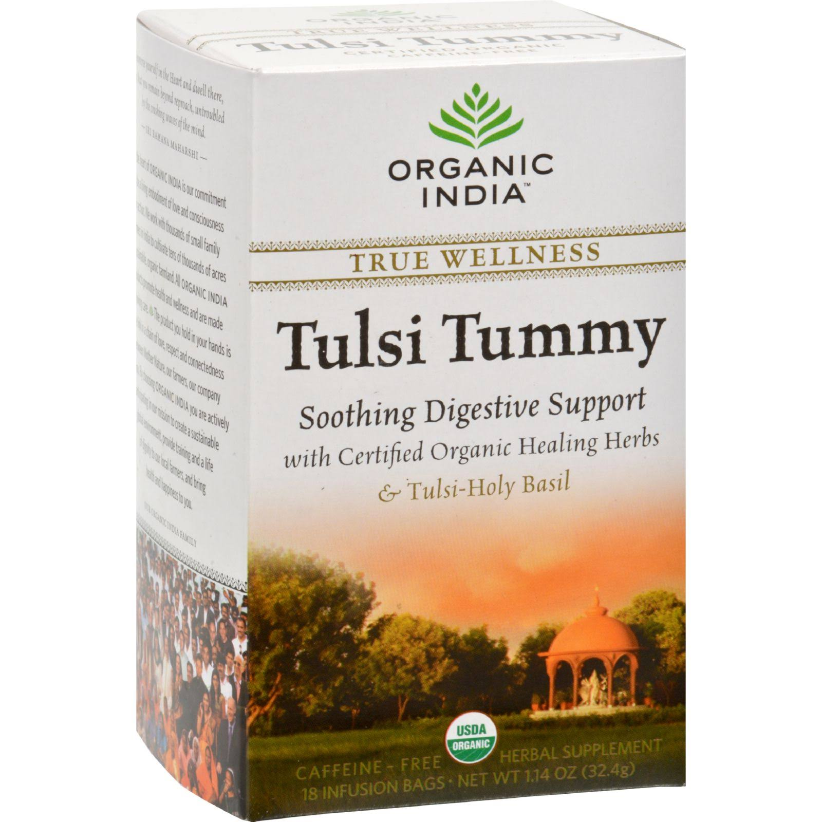 Organic India Tulsi Holy Basil Tea - 18 Infusion Bags