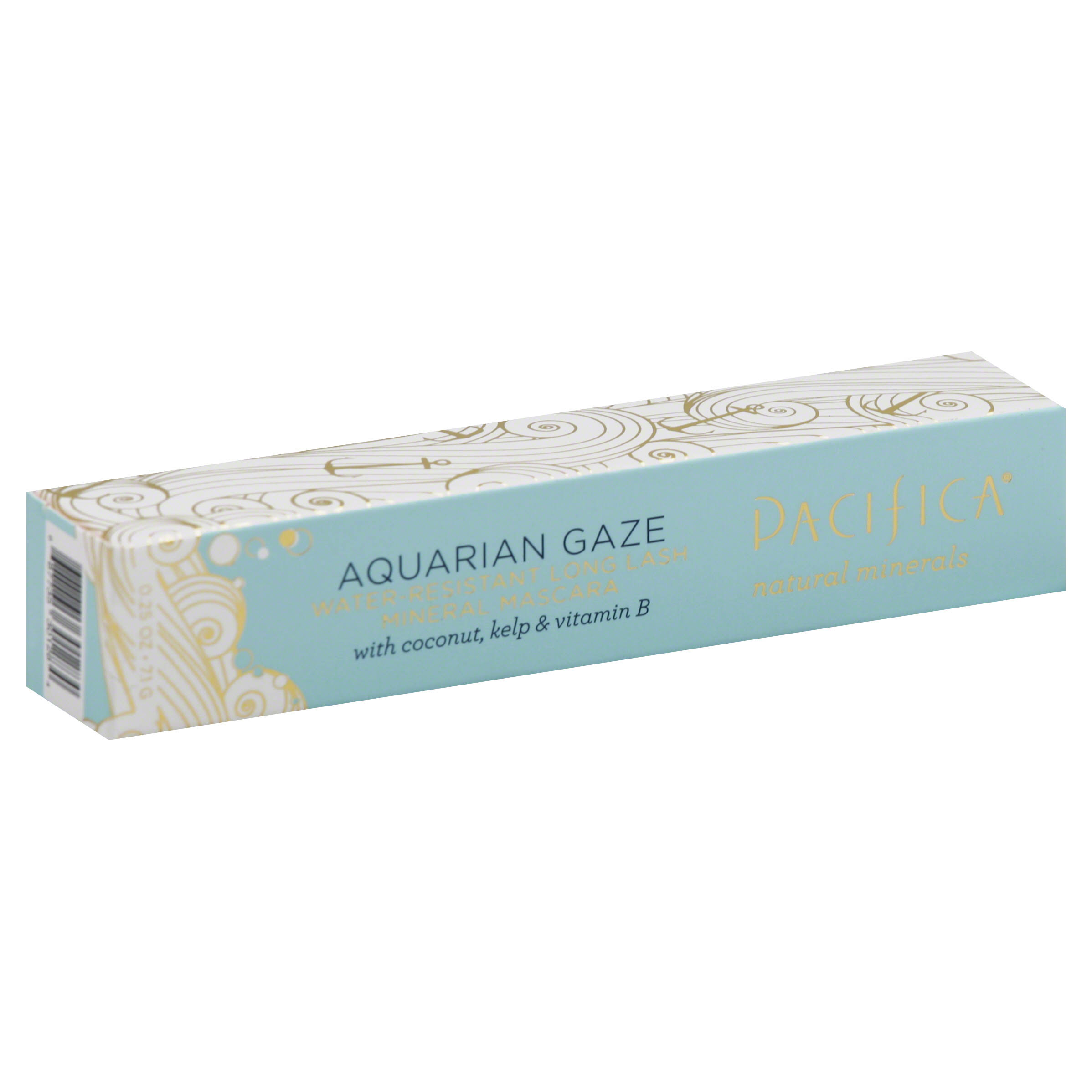 Pacifica Beauty Aquarian Gaze Water Resistant Long Lasting Mineral Mascara - Abyss, 0.25oz