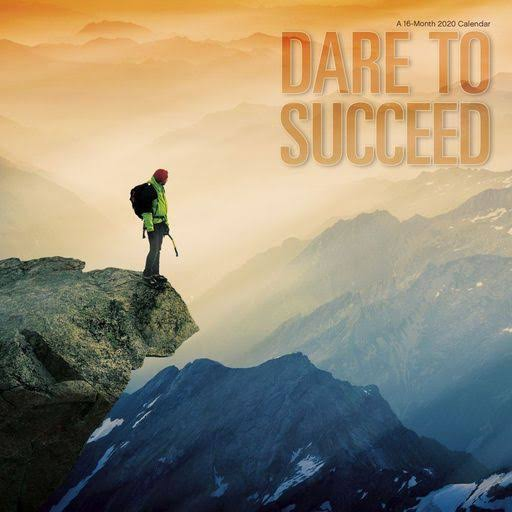 Dare to Succeed 2020 Wall Calendar