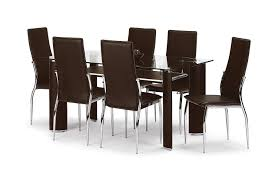 Cheap Dining Room Sets Uk by Julian Bowen Boston Dining Table Set With 4 Chairs Brown Amazon