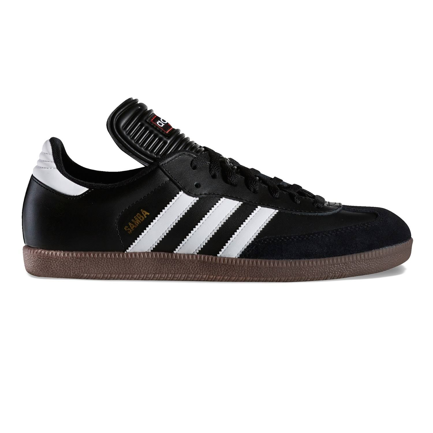 Adidas Men's Samba Classic Soccer Shoes - Black and White, 8 US