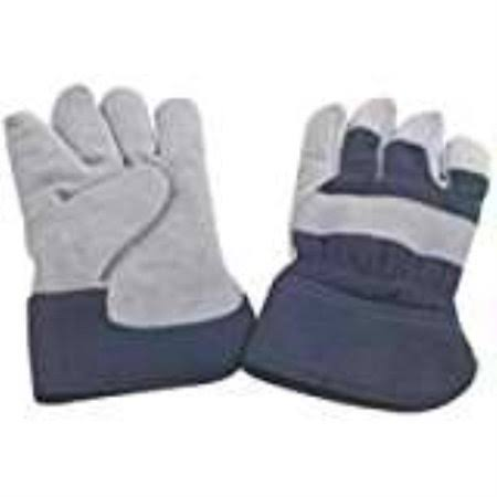 Mintcraft Insulated Leather Men's Gloves - Blue
