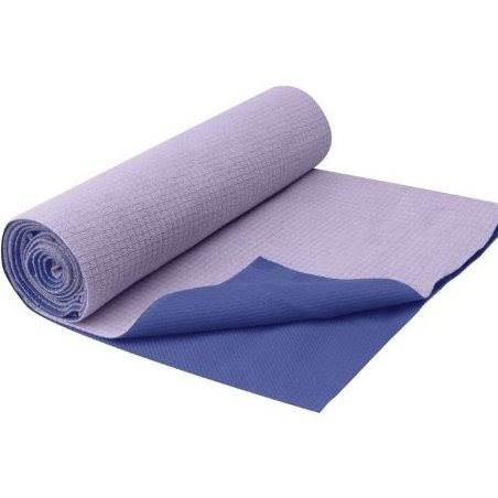 Gaiam No-slip Yoga Mat Towel - Purple