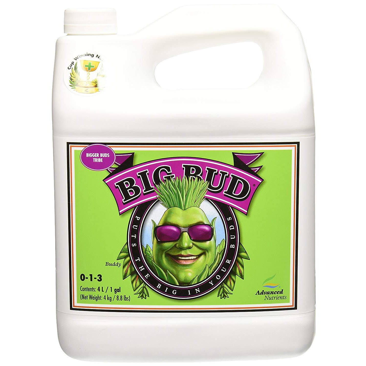 Advanced Nutrients Big Bud Liquid Fertilizer - 4L
