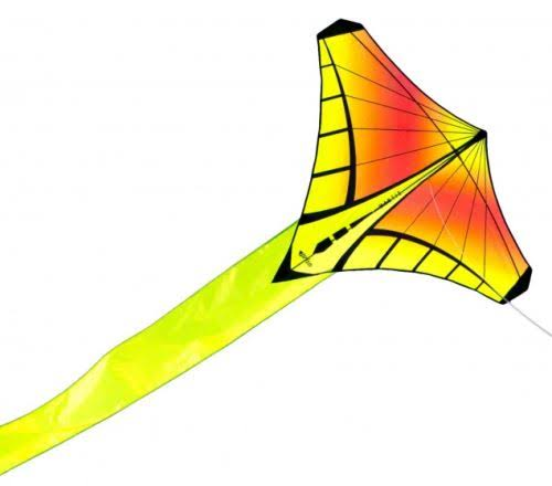 Prism Sunrise Kites - Mantis Diamond, Delta Single Line Kite with String