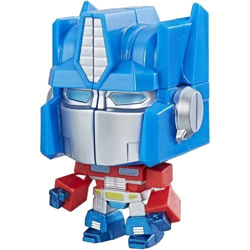 Rubik's Crew Game Transformers Action Figure - Optimus Prime, 4""